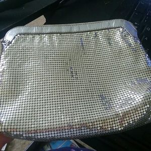 Whiting and Davis mesh handbag